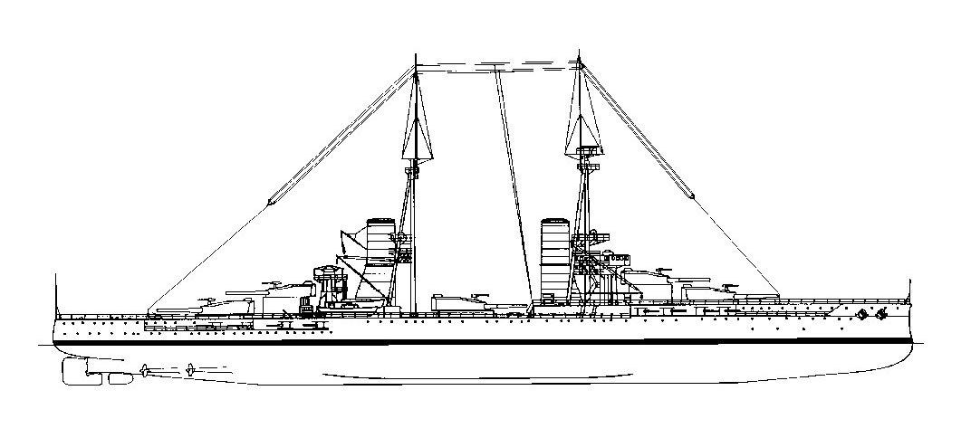 0007 andrea doria 1913 battleship scale 1 100 for Andrea doria nave da guerra